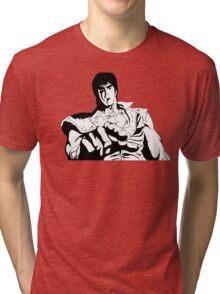 ken shiro Tri-blend T-Shirt