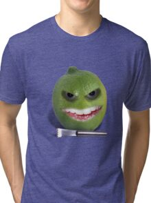 Beware the Lime with the Lemon Zester Tri-blend T-Shirt