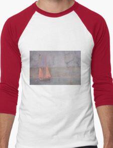 Sailing the Channel Men's Baseball ¾ T-Shirt