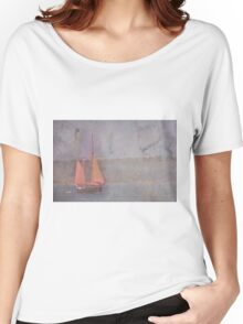 Sailing the Channel Women's Relaxed Fit T-Shirt