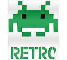 Retro - Invader Poster