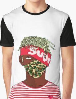 Lil Kakashi Uzi Graphic T-Shirt