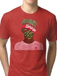 Lil Kakashi Uzi Tri-blend T-Shirt