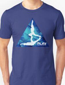 PLAY - Blue Trigon Unisex T-Shirt