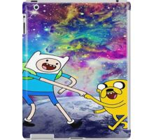 adventure time galaxy iPad Case/Skin