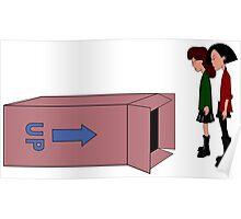Daria & Jane Box Poster