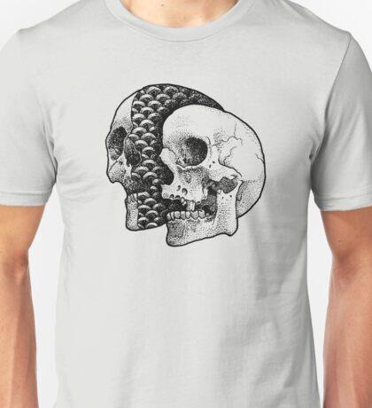 SLICED SKULL Unisex T-Shirt