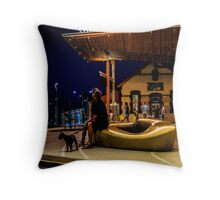 Henley Square evening Throw Pillow