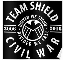 TEAM SHIELD - COMIC TO MOVIE Poster