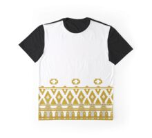 Journey: White Cloak Pattern Graphic T-Shirt