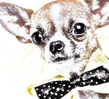 Cute Chihuahua Sticker  Sticker