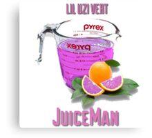 Juice Man Canvas Print