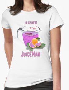 Juice Man Womens Fitted T-Shirt
