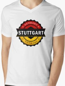 Stuttgart, Germany Mens V-Neck T-Shirt