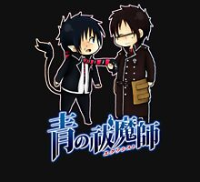 blue exorcist rin and yuki chibi Unisex T-Shirt