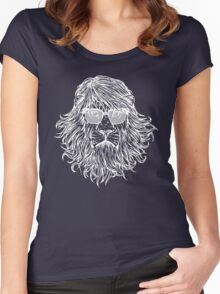 LION WITH GLASSES LAST MAN ON EARTH Tandy Phil Miller Women's Fitted Scoop T-Shirt