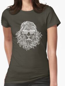 LION WITH GLASSES LAST MAN ON EARTH Tandy Phil Miller Womens Fitted T-Shirt