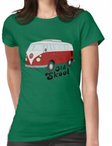 Old-Skool Womens Fitted T-Shirt
