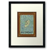Van Gogh - Self-portrait Framed Print