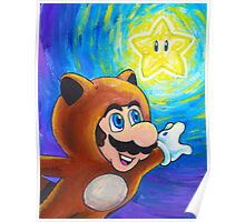 Tanooki Mario Poster
