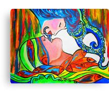 Kiss Me Canvas Print