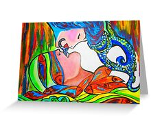 Kiss Me Greeting Card