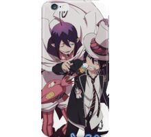 blue excorist, majestic and rin together iPhone Case/Skin
