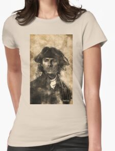 Autumn lingered Womens Fitted T-Shirt