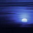 Blue Sunset by Lindie Allen