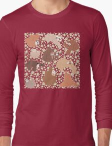 Sloth-mania Long Sleeve T-Shirt