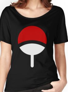 *Uchiha Clan Logo* Women's Relaxed Fit T-Shirt