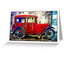 BMW Dixie 3/15ps Greeting Card