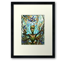 The Insect King's Coronation Framed Print