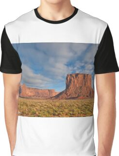 Mitchell Butte and Gray Whiskers in the Evening Light Graphic T-Shirt