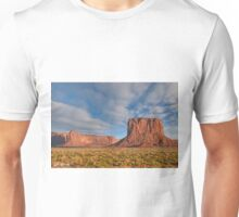 Mitchell Butte and Gray Whiskers in the Evening Light Unisex T-Shirt