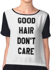Good Hair Don't Care Chiffon Top