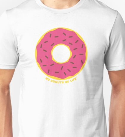 Pink Donut Unisex T-Shirt