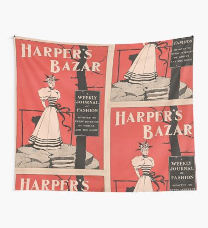 Artist Posters Harper's bazar a weekly journal of fashion devoted to every interest of woman and the home 0700 Wall Tapestry