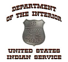 Indian Service Police Photographic Print