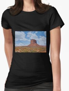 Mitchell Butte in the Morning Womens Fitted T-Shirt