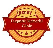 Denny Duquette Memorial Clinic Sign Photographic Print