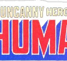 The Inhumans - Classic Title - Clean Sticker