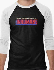 The Inhumans - Classic Title - Clean Men's Baseball ¾ T-Shirt