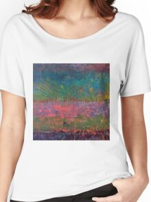 Abstract Landscape Series - Wildflowers Women's Relaxed Fit T-Shirt
