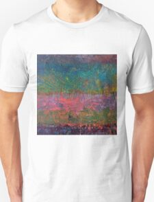Abstract Landscape Series - Wildflowers Unisex T-Shirt