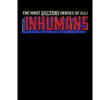 The Inhumans - Classic Title - Dirty Photographic Print