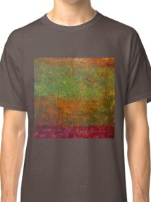 Abstract Landscape Series - Fallen Leaves Classic T-Shirt