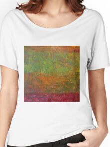 Abstract Landscape Series - Fallen Leaves Women's Relaxed Fit T-Shirt