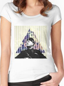 Benito Mussolini  Women's Fitted Scoop T-Shirt