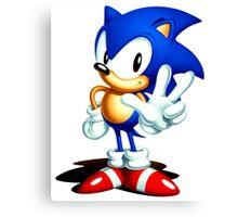 Sonic 3 Canvas Print